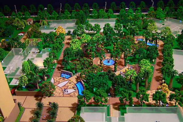 广州地产沙盘模型