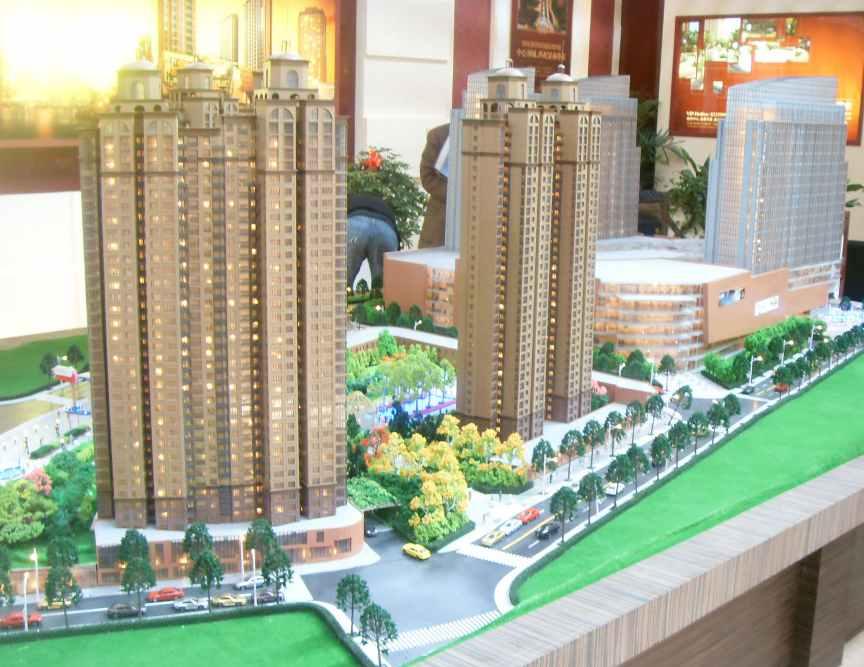 广州地产沙盘模型制作