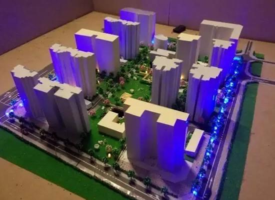 广州规划沙盘模型